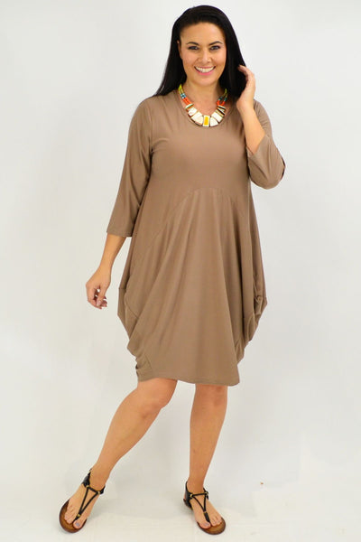 Mocca Sophia Tunic Dress - I Love Tunics