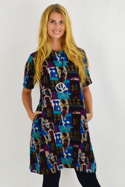 Rachel A Line Tunic Dress | I Love Tunics | Tunic Tops | Tunic | Tunic Dresses  | womens clothing online
