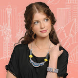 Art Deco Necklace - at I Love Tunics @ www.ilovetunics.com = Number One! Tunics Destination