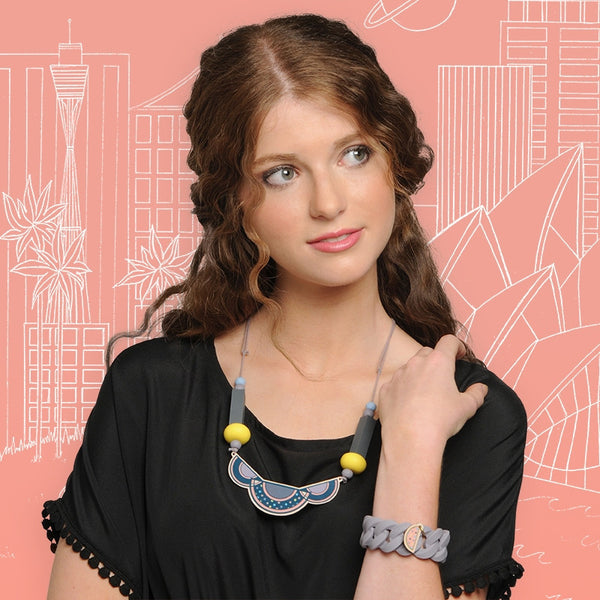 Art Deco Necklace - I Love Tunics @ www.ilovetunics.com