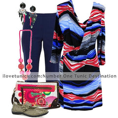Coloured Zebra - at I Love Tunics @ www.ilovetunics.com = Number One! Tunics Destination