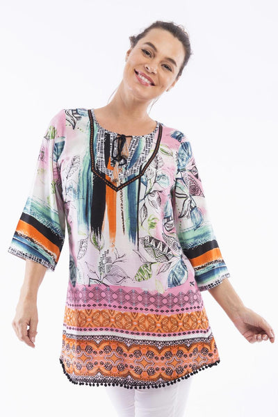 Monderna Orientique Tunic | I Love Tunics | Tunic Tops | Tunic | Tunic Dresses  | womens clothing online