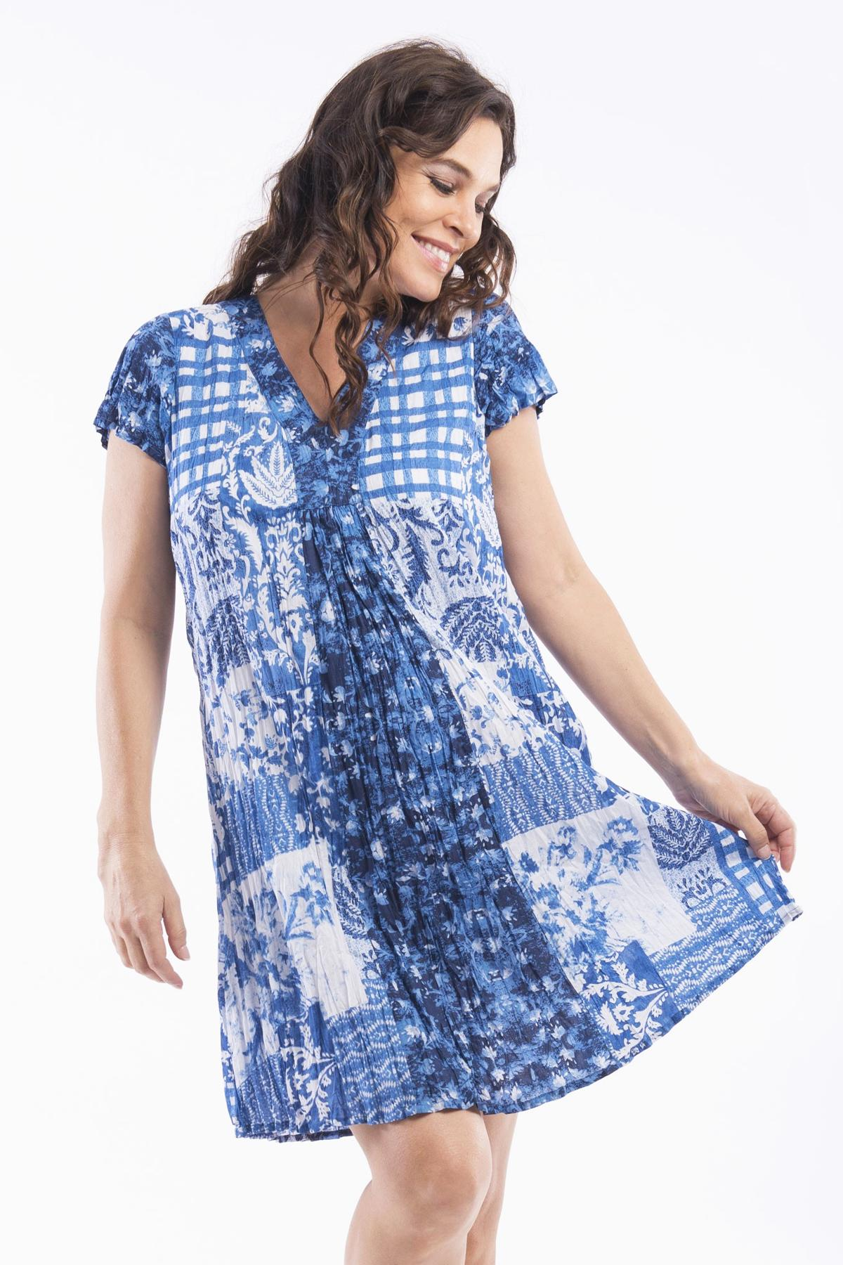 Delphi Dress Tunic by Orientique | I Love Tunics | Tunic Tops | Tunic Dresses | Women's Tops | Plus Size Australia | Mature Fashion