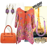 Lolita paisley Tunic - at I Love Tunics @ www.ilovetunics.com = Number One! Tunics Destination