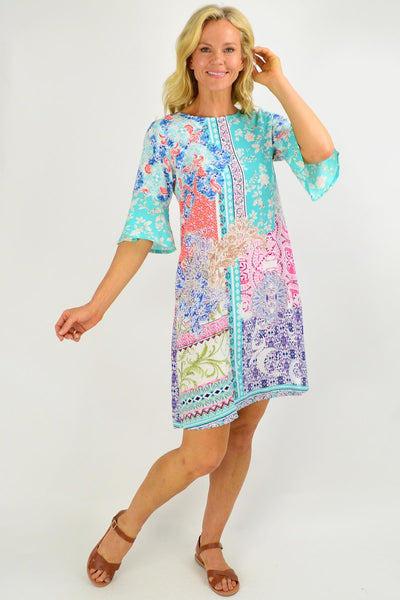 Maderia Shift Tunic Dress