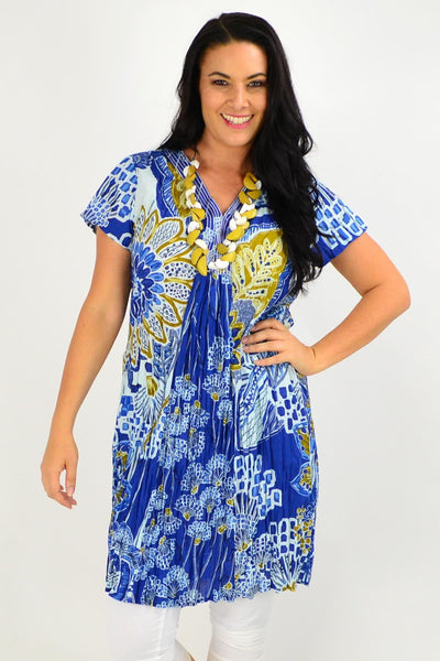 Seville Shift Orientique Tunic Dress | I Love Tunics | Tunic Tops | Tunic | Tunic Dresses  | womens clothing online