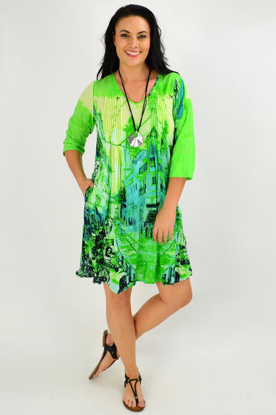 St Green Motifs of the world Tunic Dress