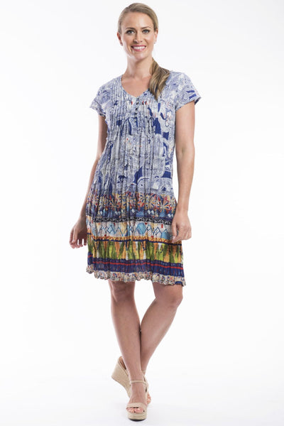 Orientique Easy Fit Positano Tunic Dress