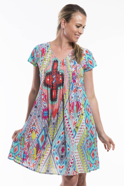 Orientique Easy Fit Lombardy Tunic Dress