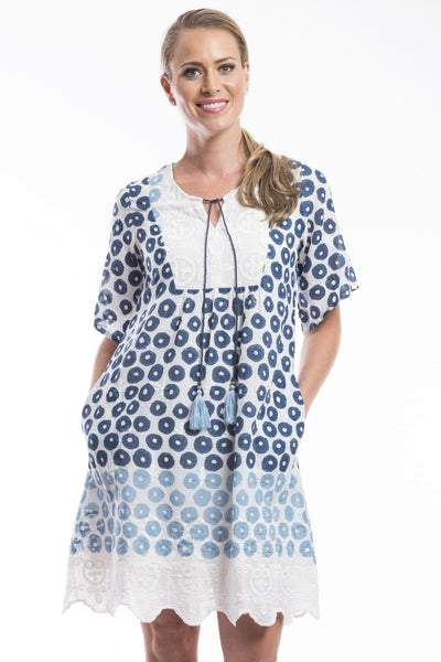 Campania Boho Tunic Dress from Orientique | I Love Tunics | Tunic Tops | Tunic Dresses | Women's Tops | Plus Size Australia | Mature Fashion