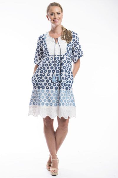 Campania Boho Tunic Dress from Orientique