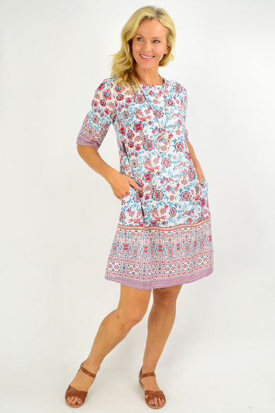 Ronda Shift Tunic Dress