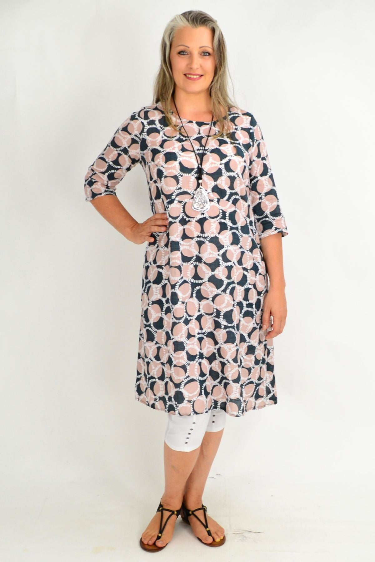 Vivian Spot Tunic Dress | I Love Tunics | Tunic Tops | Tunic | Tunic Dresses  | womens clothing online