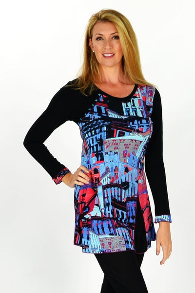 Streets of New York Tunic - at I Love Tunics @ www.ilovetunics.com = Number One! Tunics Destination