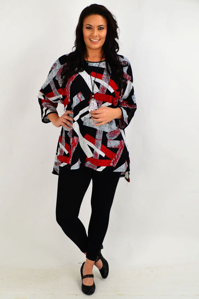 Michelles Relaxed Tunic Top
