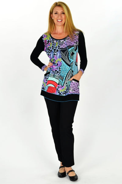 Purple Paradise Tunic