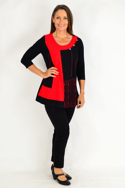 Monica 3/4 Sleeve Tunic
