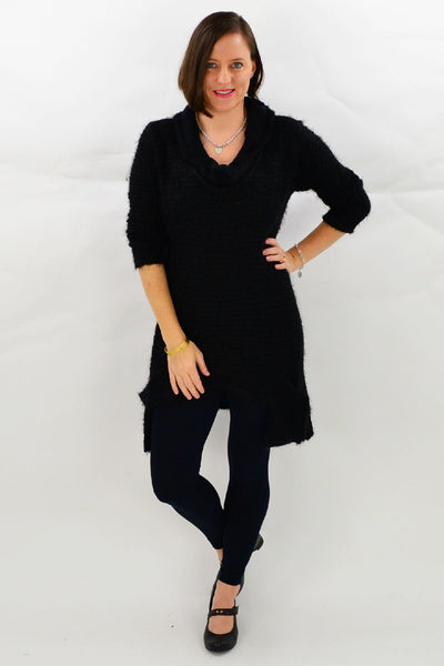 Black Katherine Tunic