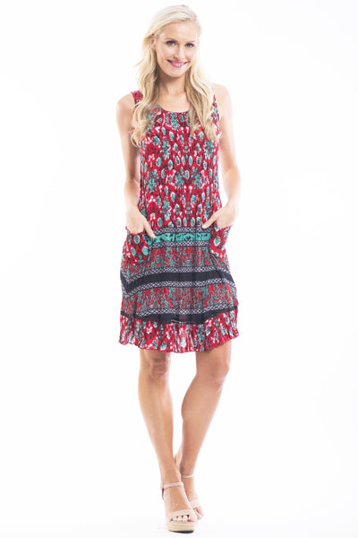 Berries Forest Tunic Dress
