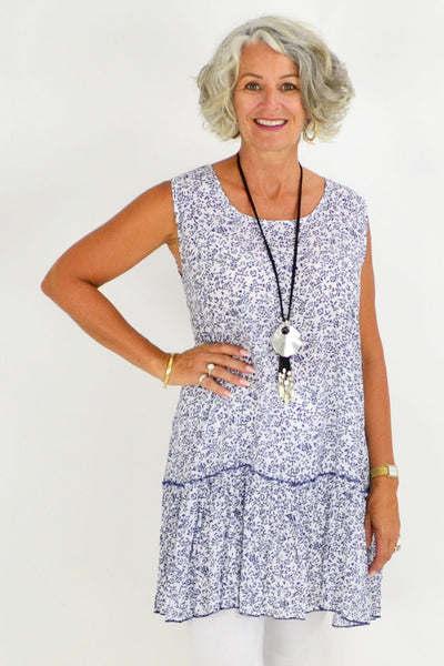 cotton sleeveless tunics
