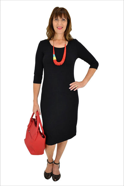 Black Long Tunic Dress