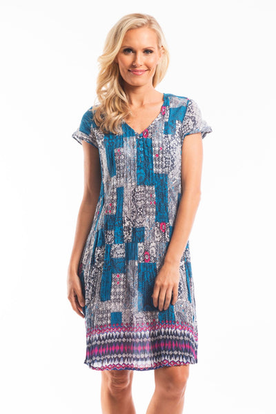Arabesque Bazaar Tunic Dress | I Love Tunics | Tunic Tops | Tunic Dresses | Women's Tops | Plus Size Australia | Mature Fashion
