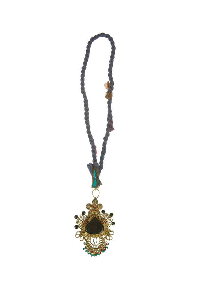 Big Gold pendent necklace - I Love Tunics @ www.ilovetunics.com
