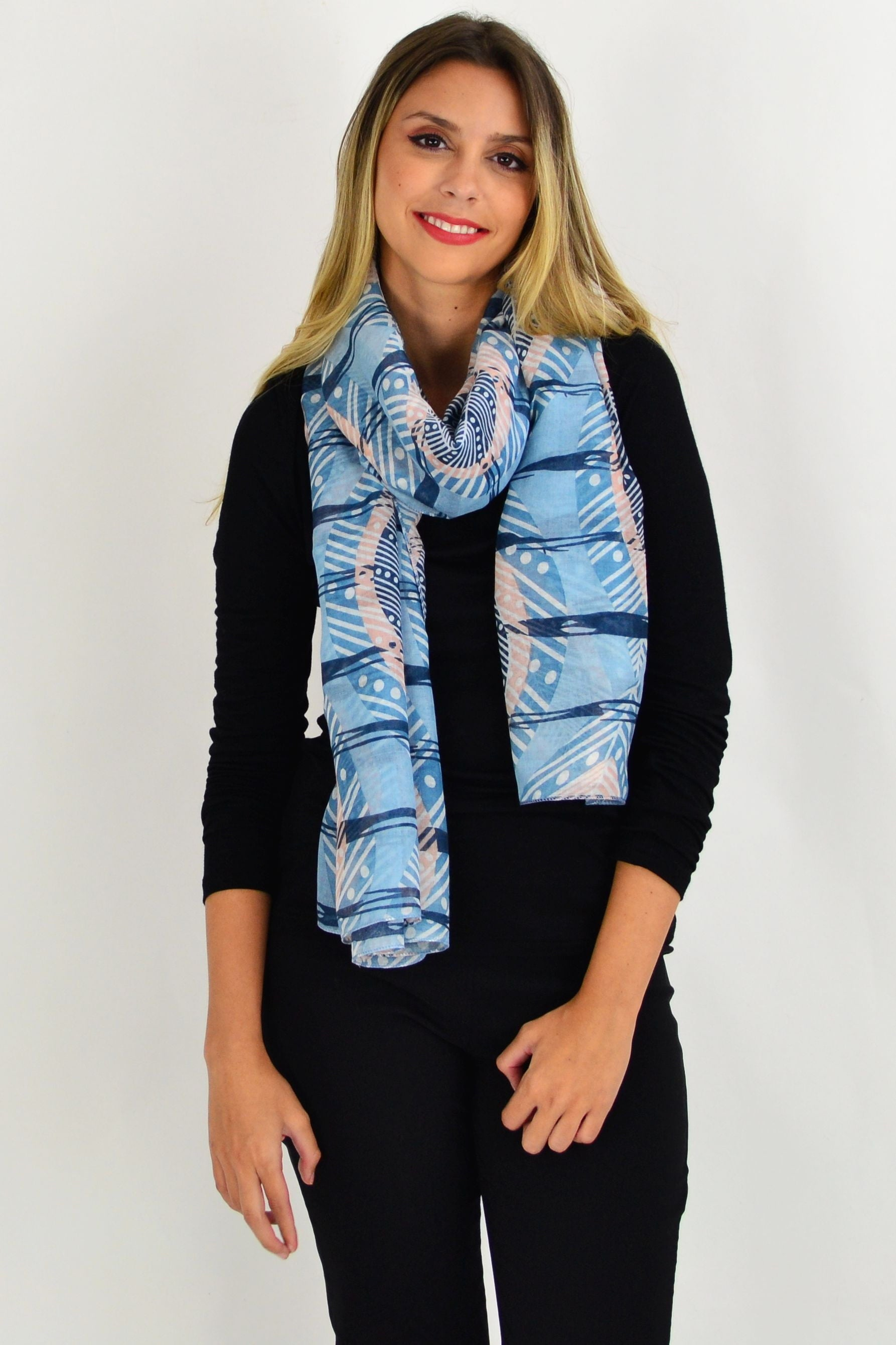 Blue Queenstown Scarf | I Love Tunics | Tunic Tops | Tunic | Tunic Dresses  | womens clothing online
