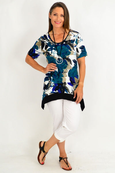 Ava Floral Tunic Top