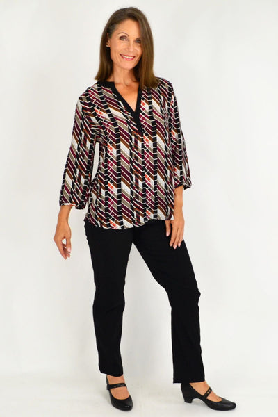 Everyday V neck Tunic Top