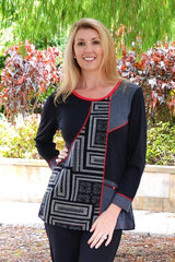 Red Cairns Tunic - at I Love Tunics @ www.ilovetunics.com = Number One! Tunics Destination