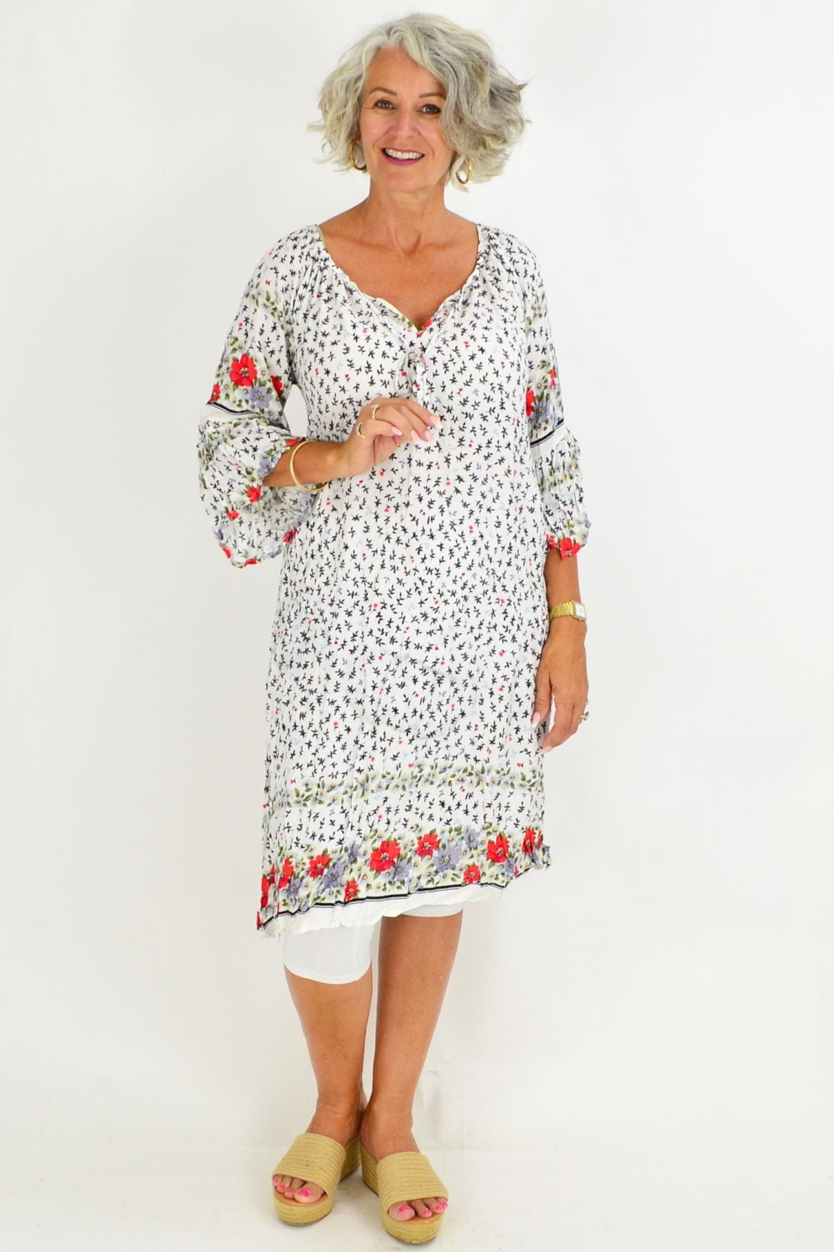 Rosanna Crinkle Tie Tunic Dress | I Love Tunics | Tunic Tops | Tunic | Tunic Dresses  | womens clothing online