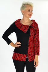 Red Katy Tunic - I Love Tunics @ www.ilovetunics.com
