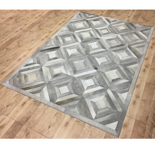Madison Cowhide Patchwork Rug