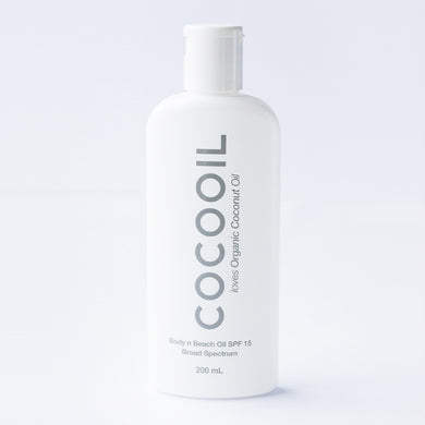 COCOOIL BODY n BEACH OIL SPF 15 – 200ml - house-of-amarah
