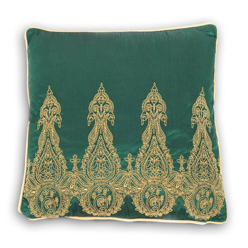 Emerald Night Cushion - house-of-amarah