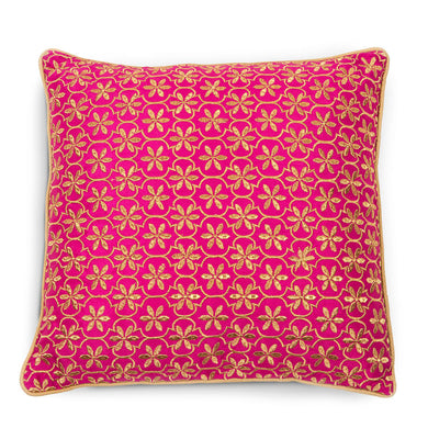 Festive Fuchsia Cushion