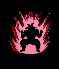 Collectible Pin Dragon Ball Z  Kaioken Goku