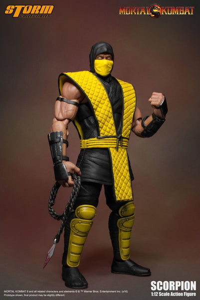 Scorpion Mortal Kombat Storm Collectibles 1:12 Action Figure