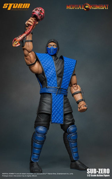 Sub Zero Mortal Kombat Storm Collectibles 1:12 Action Figure