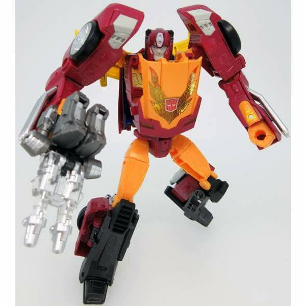 Transformers Takara Legends - LG-45 Targetmaster Hot Rodimus