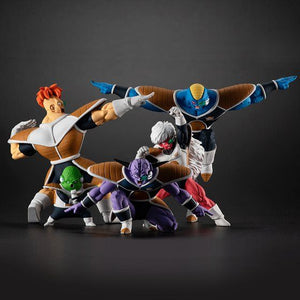 HG Dragon Ball Z - Ginyu Force Full Statue Set