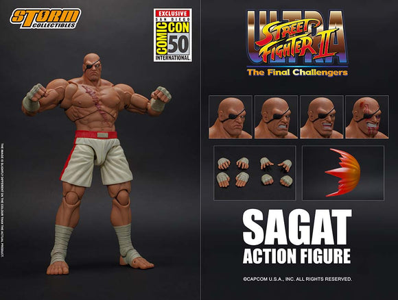 SDCC 2019 Storm Collectibles Street Fighter - Sagat