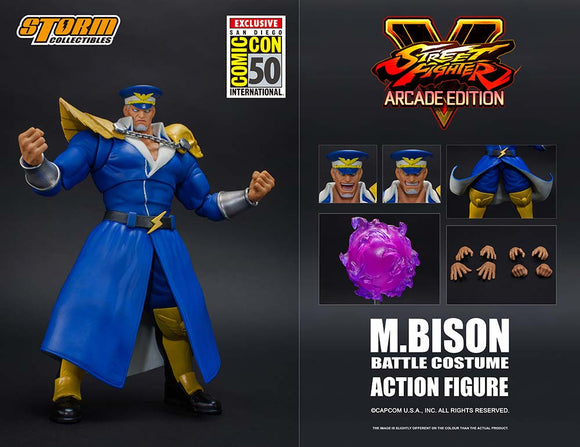 SDCC 2019 Storm Collectibles Street Fighter - M. Bison Battle