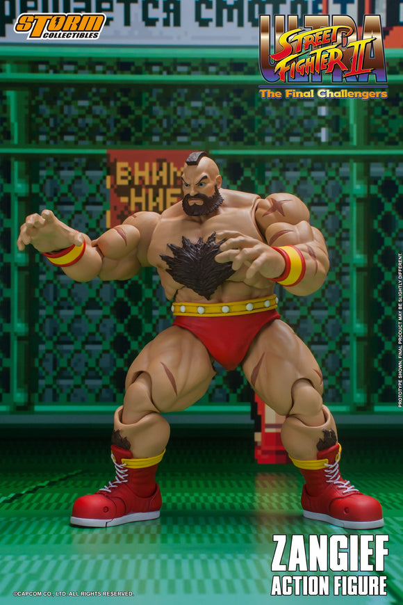 Storm Collectibles Ultra Street Fighter II The Final Challengers - Zangief Pre-order