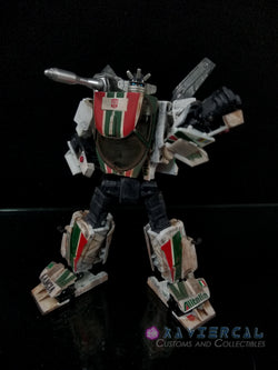 Xavier Cal Custom: Transformers Masterpiece MP-20 Realistic Colors Wheeljack
