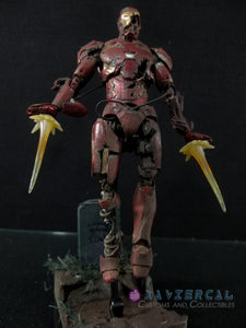 Xavier Cal Custom S. H. Figuarts Marvel Spider-Man Far From Home: Iron Man