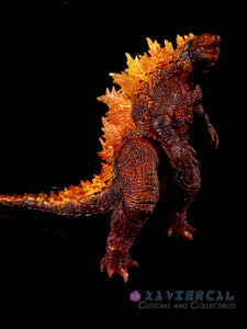 Xavier Cal Custom S. H. MonsterArts Godzilla: King of the Monsters - Burning Godzilla