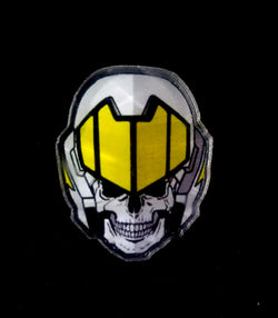 Acrylic Collectible Pin Macross - Skull Leader