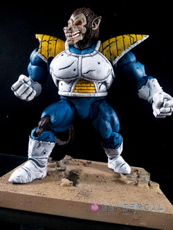 Xavier Cal Custom S. H. Figuarts Dragon Ball Z Great Ape Vegeta Anime Colors